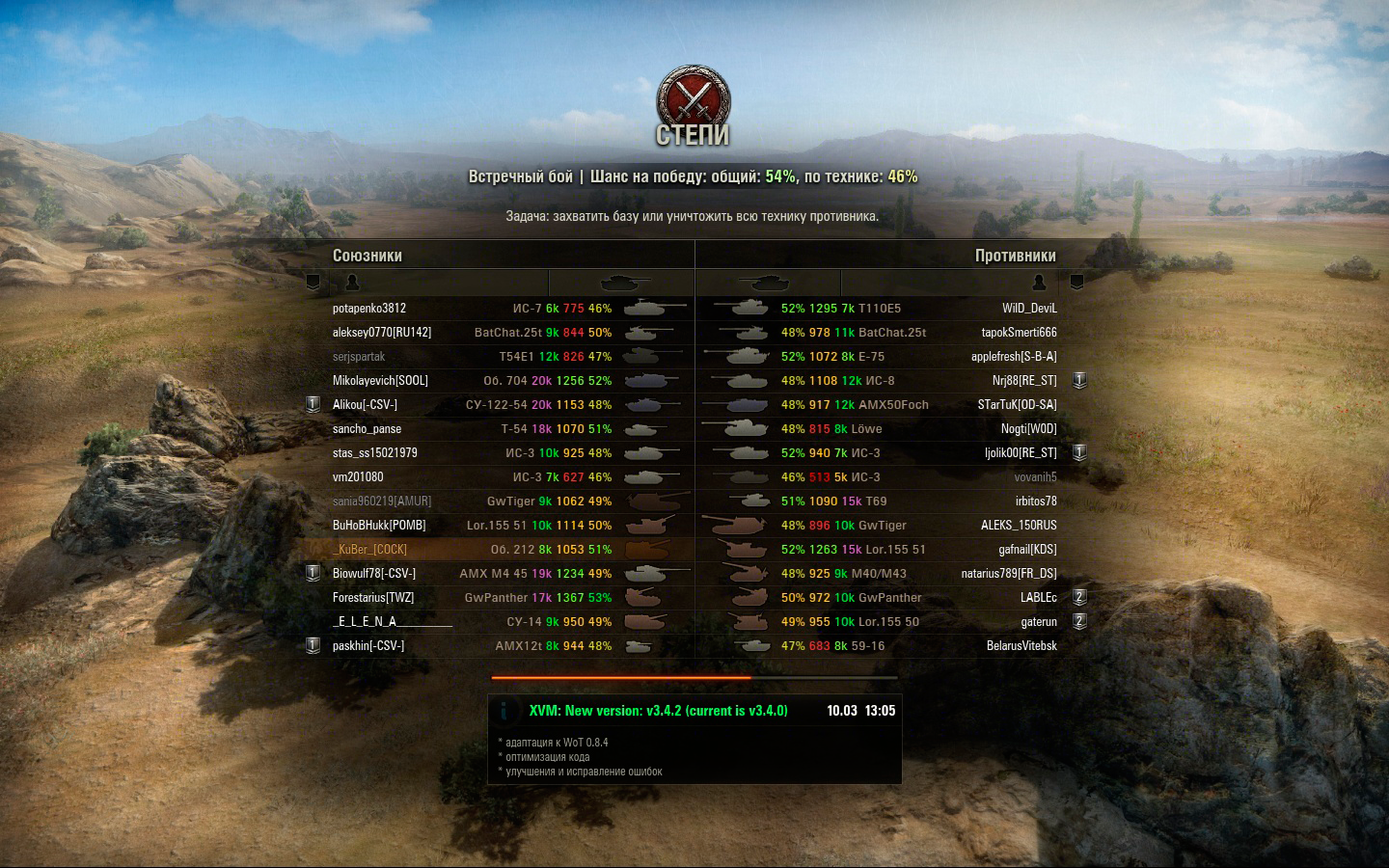 Моды на world of tanks 9 18